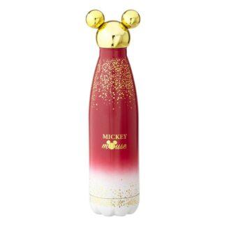 Disney Mickey Mouse water bottle waterfles Berry glitter