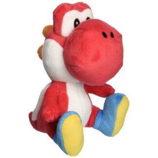 Red Yoshi knuffel Mario Nintendo