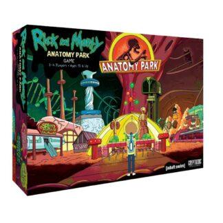 Rick and Morty Anatomy Park bordspel