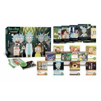 Rick Morty Counters Kind Deck Building Game