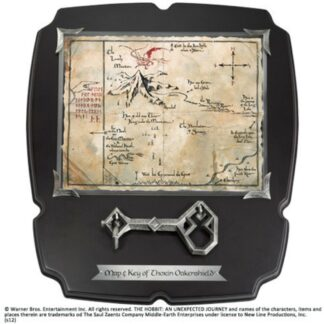 Hobbit Thorin's Key Map Full Size movies Lord of the Rings