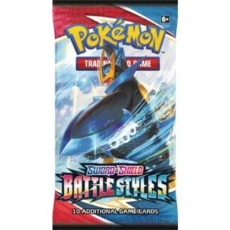 Pokémon Trading Card company Battle Styles boosterpack