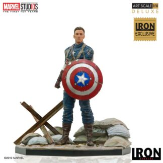 Marvel BDS art scale statue Captain America First Avenger MCU Exclusive Iron Studios