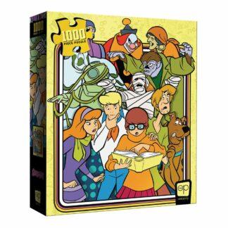 Scooby-Doo jigsaw puzzel series meddling kids