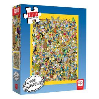 Simpsons puzzel Cast thousands pieces series