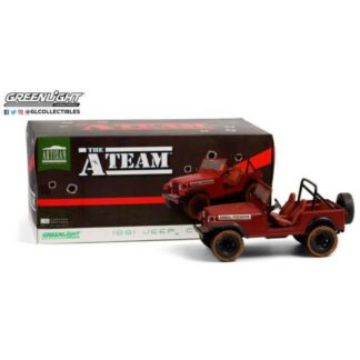 A-team Diecast Model Jeep CJ-7 A-team